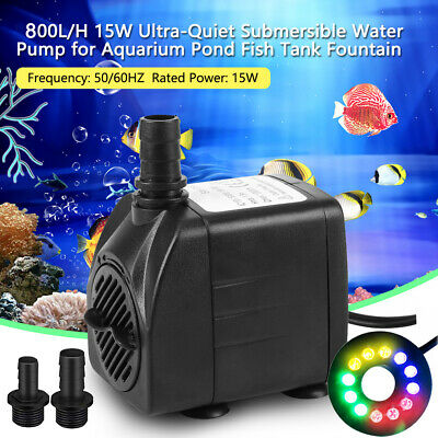 Submersible Water Pump for Aquarium Fish Tank Water Feature Outdoor Garden Pond