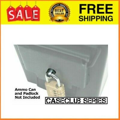 Locking Hardware Ammo Box Case Can (3rd Gen) fits 50 Cal 30 Cal 20 mm 40 mm