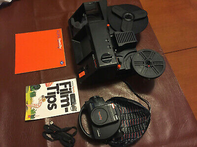 agfa family super 8 cine camera including manual, projector and accessories $245