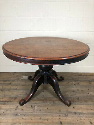 Victorian Circular Tilt Top Dining Table - Delivery Available