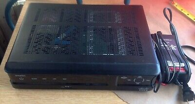 Cisco 8742HDC High Definition TV Cable Box Receiver w/Power Adapter