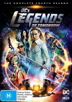 PREORDER - DC's Legends of Tomorrow: Season 4  - DVD - NEW Region 4