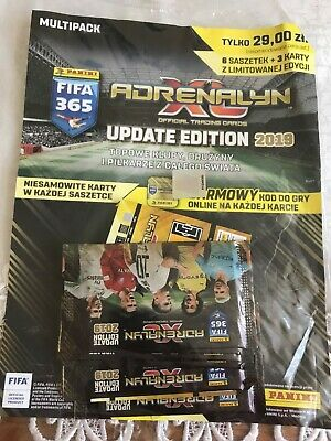 Panini Adrenalyn XL FIFA 365 2019 UPDATE EDITION MULTI-PACK...NEW&SEALED