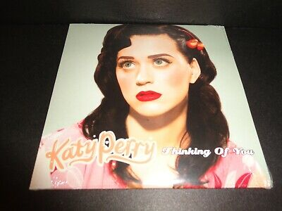 THINKING OF YOU  by KATY PERRY-Rare Collectible Maxi Single w/  Acoustic Version