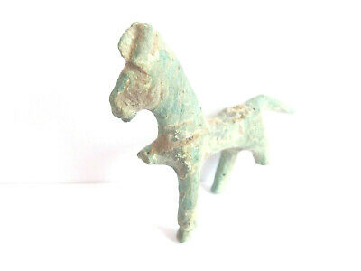 IRON AGE Hallstatt Culture > ANCIENT Celtic DRUID *** HORSE figurine *** AMULET*
