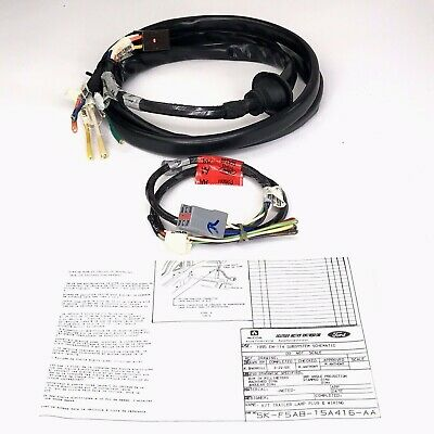 Ford Genuine DT4Z-15A416-A Trailer Hitch Wiring Harness