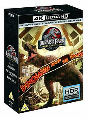 Jurassic Park Trilogy [4K Uhd+Bluray+Download]