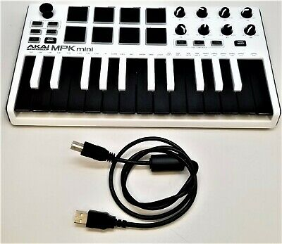 Akai Professional - Mpk Mini - Electronic Keyboard - White