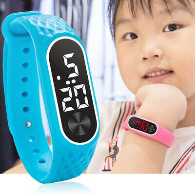 New Children's Watches Kids LED Digital Sport Watch for Boys Girls Men Women