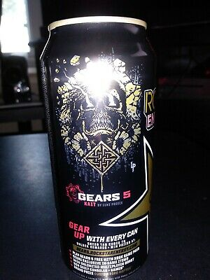 Gears of war 5 EXCLUSIVE ROCKSTAR can #1 of 6 CODE ONLY KAIT CAN