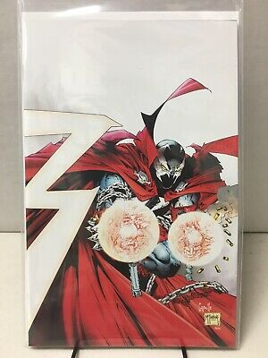 Spawn #300 - Capullo, McFarlane Virgin Variant - 1:25 - NM- (9.2) - Image Comics