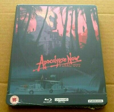Apocalypse Now : Final Cut - 4K UHD + Blu-ray UK Exclusive STEELBOOK, *In Stock
