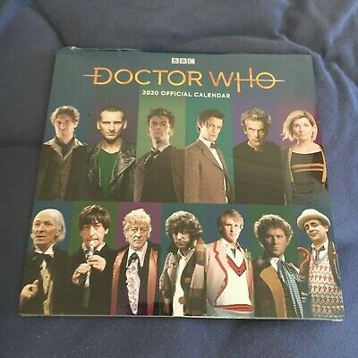 New, Wrapped. Bbc, Doctor Who 2020 Calendar/ Red Trout