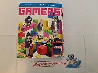 New * Gamers! The Complete Series - Blu-ray + DVD + Digital * Sealed * Gamers