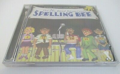 SEALED - THE 25TH ANNUAL PUTNAM COUNTY SPELLING BEE - Original Broadway Cast CD