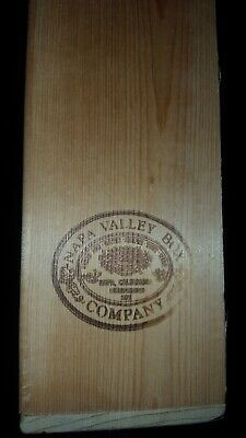 Napa Valley Box Company 100 CASSETTE TAPES Wall Mountable Wood Storage Case