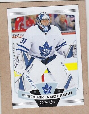19/20 Opc...frederik Andersen...card # 256..Maple Leafs...free Combined Shipping