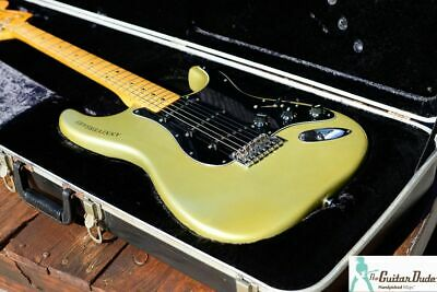 1979 Fender 25th Anniversary Stratocaster w OHSC & All Paperwork