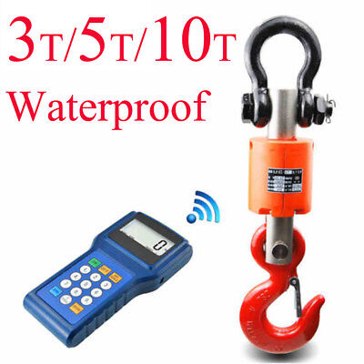 3T/5T/10T Waterproof Digtal Wireless Industry Hanging Crane Heavy Duty Scales