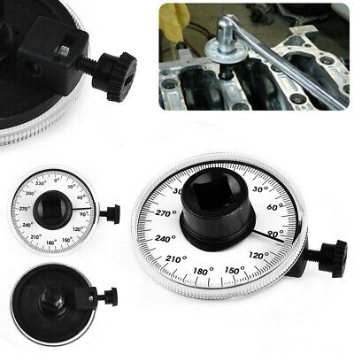 1/2 Inch Drive Torque Gauge Measures Angle Of Rotation 360 Degree Tool Wrench