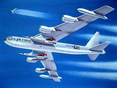Fist Full Of Throttles SAC B-52D Stratofortress 'The Buff' CANVAS by Mike Machat