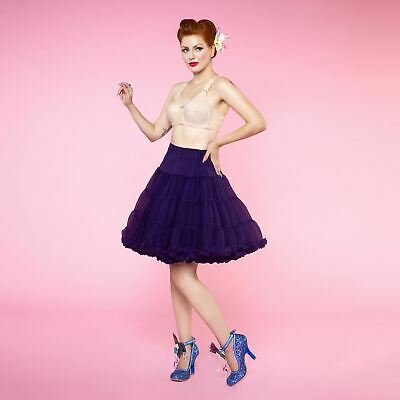 Dolly and Dotty Short Flared Purple Petticoat 53cm