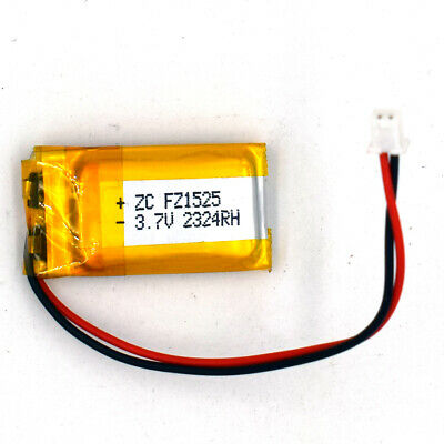 3.7V 180mAh 501525 LiPo Rechargeable Battery LiPolymer Cell For Recorder Pen