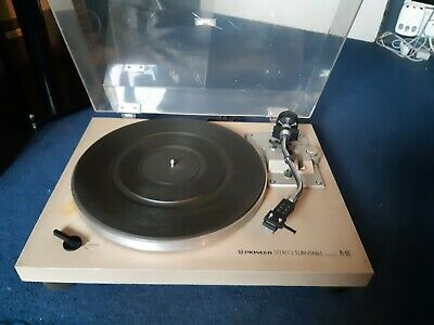 pioneer PL-512 turntable