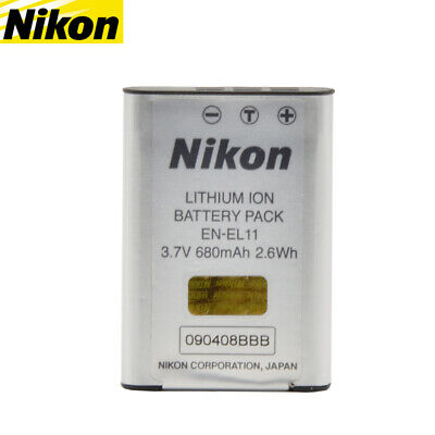 Nikon EN-EL11 Genuine Original MH-64 Camera Battery Coolpix S550 S560 S660