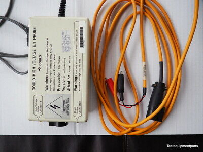 Gould 11-5407-71 E/1 High Voltage Probe, Shunt Cable, Manual