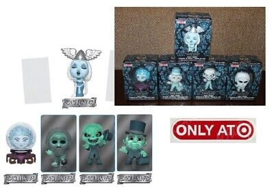 Funko Haunted Mansion ALL FIVE TARGET VINYL EXCLUSIVE MINI FIGURES-GLOW TESTED!