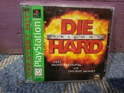 Die Hard Trilogy PlayStation PS1 PS2 PS3 Complete