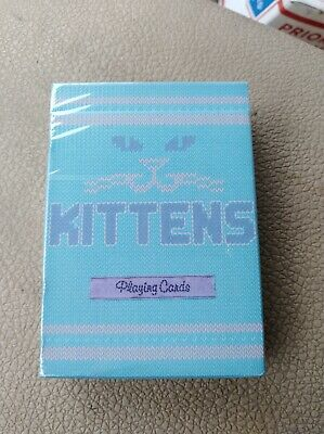 Kittens blue edition by Ellusionist. Unreleased. E7 stock. Free shipping