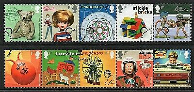 GB Stamps 2017 'Classic Toys' - fine used