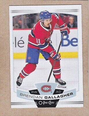 19/20 Opc...brendan Gallagher...card # 228..Canadiens...free Combined Shipping