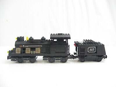 Great Stocking Stuffer Idea ☆NEW☆ LEGO Toy Mini Steam locomotive Train /& Track