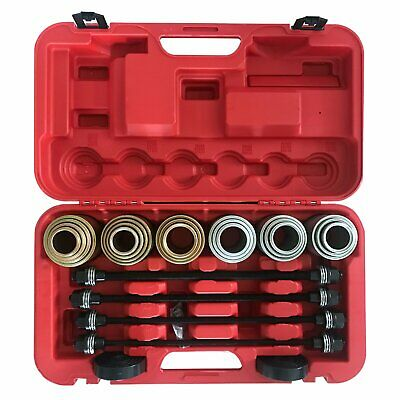 Universal Press and Pull Sleeve Kit Remove Install Bushes Bearings Garage Tools
