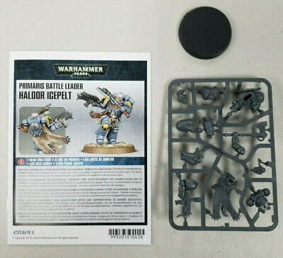 Warhammer 40k Primaris Space Wolves Battle Leader Haldor Icepelt Free Shipping