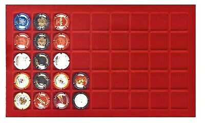 2 Lighthouse 346588 Coin Trays 45 Compartments 31 mm for Bottle Capsules