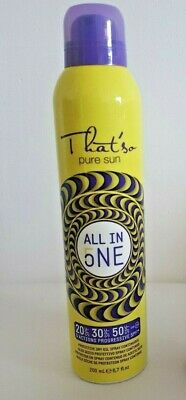 THAT'SO PURE SUN ALL IN ONE SPF 20/30/50  200ml