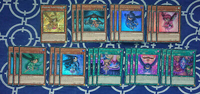 Fortune Fairy Hikari 25 Card Secret Rare Deck Core Set Blhr Yugioh *New & Mint*