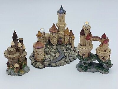NEW FANTASY MYTHICAL & Magic Spoontiques Pewter Castles with
