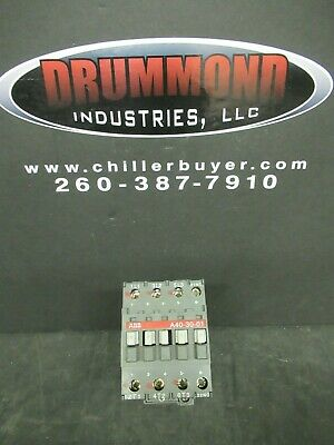 Abb Contactor A40-30-01  60 Amp 600 Vac 40 Hp **Warranty Included!**