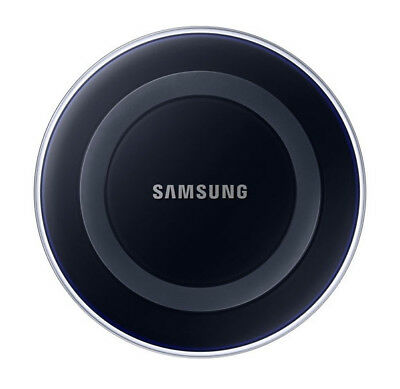 Samsung Wireless Charging Pad with 2A Wall Charger - Black