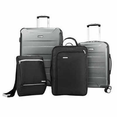 Samsonite Perfect Packer Luggage Spinner Hardside 4-piece Set, Cool  Gray
