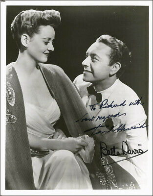 Now Voyager Movie Cast - Autographed Signed Photograph With Co-Signers