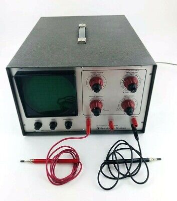 Bell and Howell Vintage Oscilloscope With Manuals 1970's Model 34