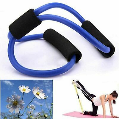Resistance Exercise Training Bands Stretch Rope Tube  For Workout Yoga 8 Type