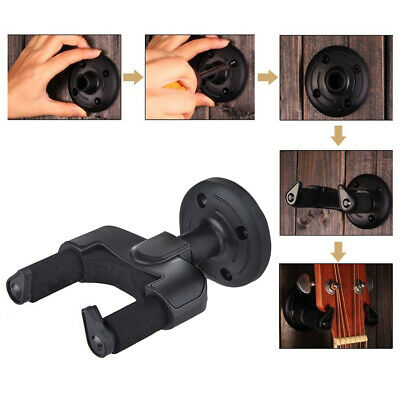 Guitar Plastic Wall Hanger Holder Stand Rack Hook Fit For Guitar Violin Ukulele