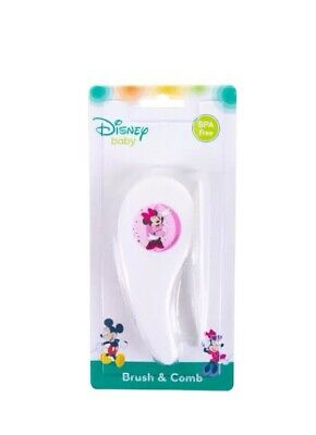 Disney Baby Brush And Comb Minnie Mouse Grooming Set